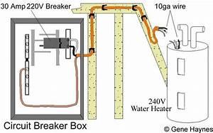 240 Volt Water Heater Circuit