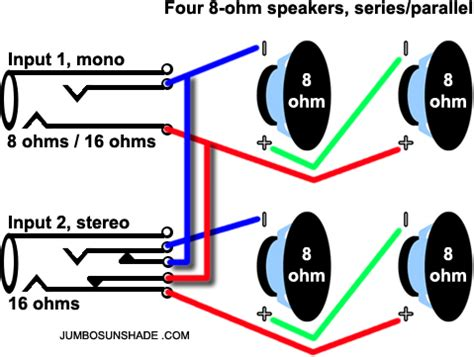 Wiring 8 Ohm Speaker In Series by Stereo Only Cab Ultimate Guitar