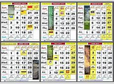Calendar 2017 Malaysia 2017 calendar printables