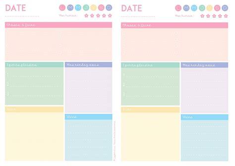 organiseur de bureau semainier planning semaine pdf agenda hebdomadaire à