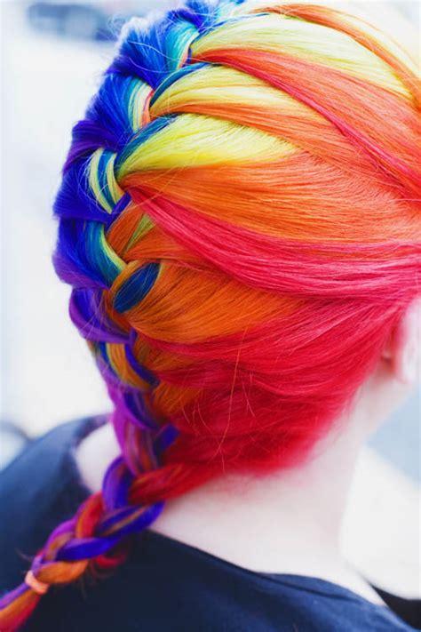 Taste The Rainbow Hair Colors Ideas