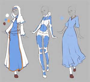 deviantART Anime Outfit Designs