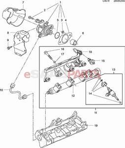 esaabpartscom With saab fuel rail diagram