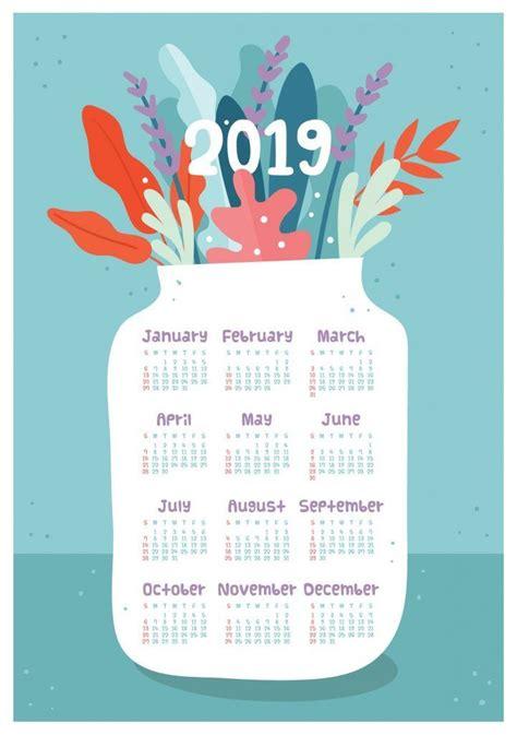 page calendar  flowers kalender spanduk ide