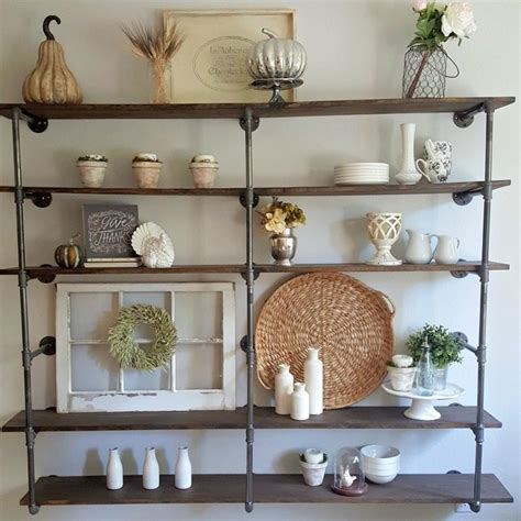 how to build your own bookshelf diy industrial pipe shelves by tutorial on