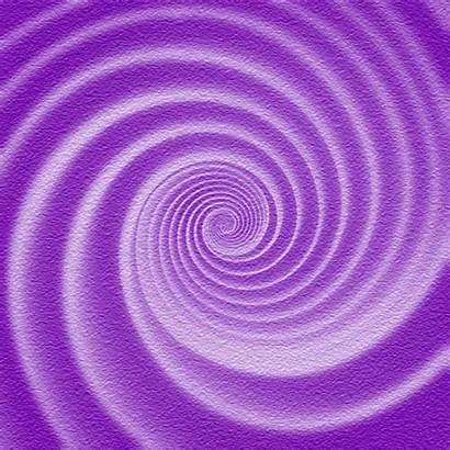 Spiral Hypnotic Yellow Purple Cool Loop Animation
