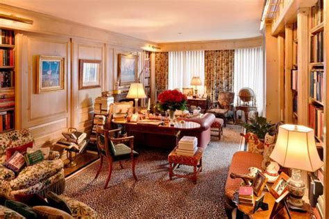 City Appartments by Inside Joan Rivers Opulent New York Apartment Overlooking