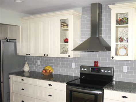 glass subway tile kitchen backsplash traditional true gray glass tile backsplash subway tile