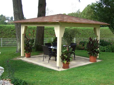Gartenpavillon Holz Mit Stoffdach Bvraocom