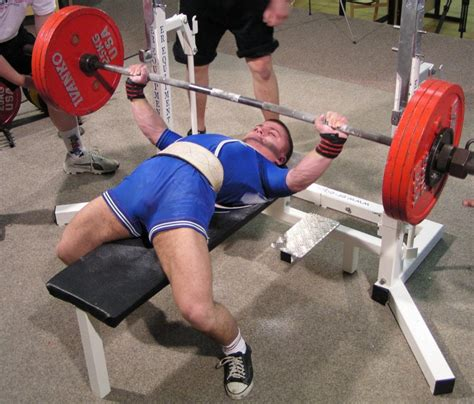 bench press record the european powerlifting federation