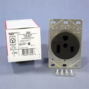 Pass  U0026 Seymour Straight Blade Single Receptacle Nema 6