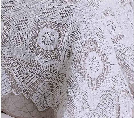 Victoria Crochet Lace Bedspread