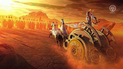 Art And Design Of Legend Of Abhimanyu 3d Mobile Game