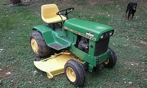 Gartentraktor John Deere 112    120    140