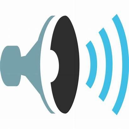 Emoji Sound Speaker Waves Clipart Android Svg