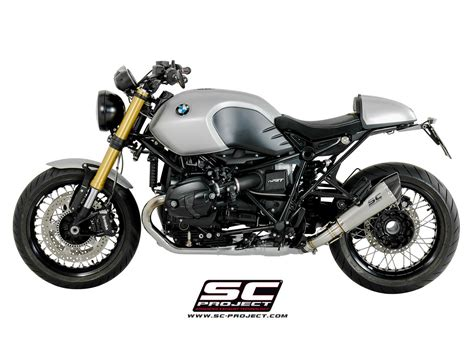 bmw nine t sc project exhaust bmw r nine t conic silencer