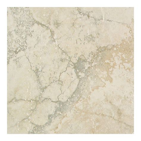 daltile canaletto bianco 18 in x 18 in glazed porcelain