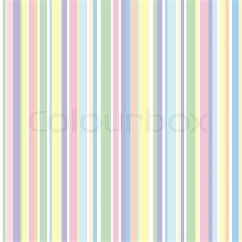 Strip Pattern, Pastel Colors  Stock Vector  Colourbox