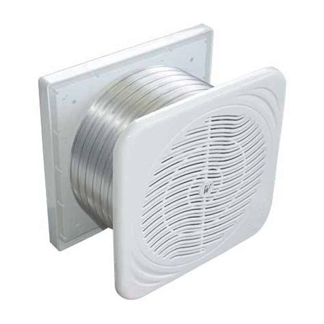 weiss bathroom extractor fan through wall clear flow