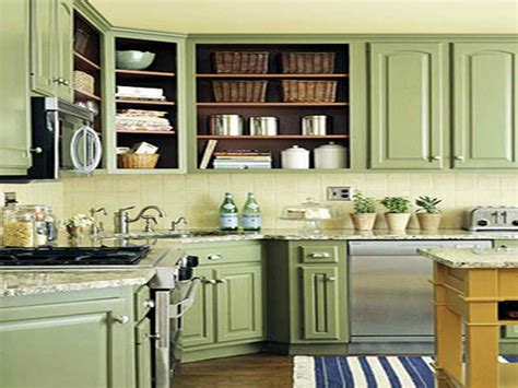 Colored Kitchen Cabinets by Spectacular Painting Kitchen Cabinets Color Ideas