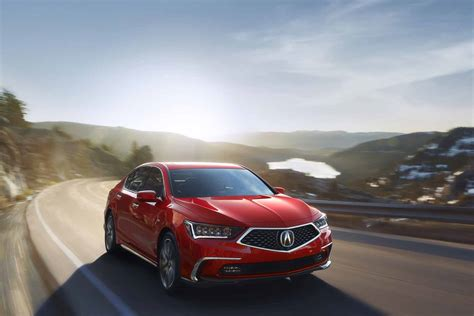 acura rlx gets fresh looks new 10 speed automatic for 2018 187 autoguide com news
