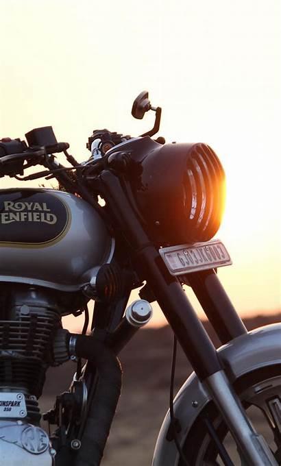 Enfield Royal 4k Wallpapers Motorcycle Bullet Iphone