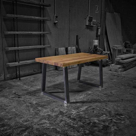 tavolo ferro legno honey tavolo rustico in legno massello di castagno e