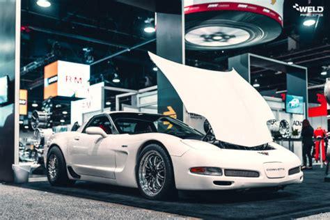 white corvette  weld  beadlock forged wheels weld