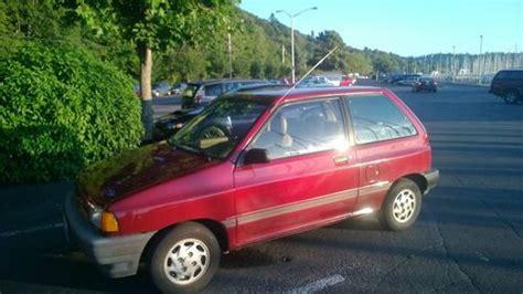 find   ford festiva lx hatchback  door