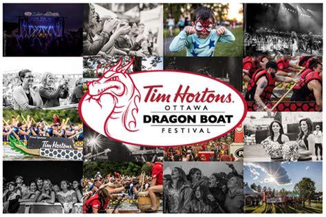 Dragon Boat Festival Tim Hortons Ottawa by Ottawa Dragon Boat Festival Signs A New Three Year Title