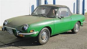 Dusty Little Frog  1972 Fiat 850 Spider