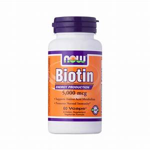 Biotin Supplement By Now Foods