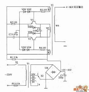 Static Electricity Eliminator Circuit Diagram 2 - Basic Circuit - Circuit Diagram