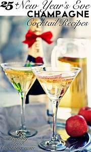 25+ New Year's Eve Champagne Cocktail Recipes