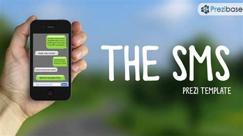 Sms Template Iphone by The Sms Prezi Template Prezibase