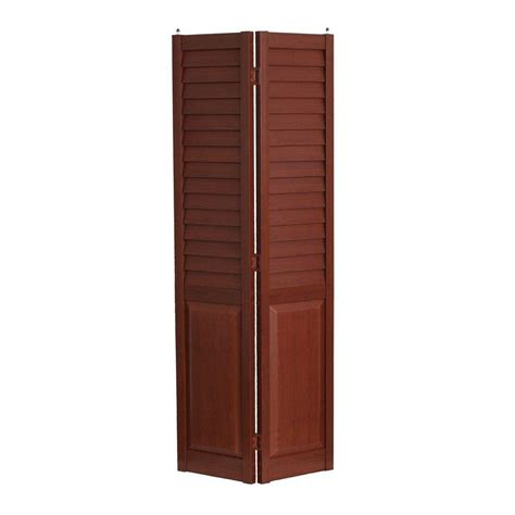 louvered bifold home fashion technologies 36 in x 80 in 3 in louver