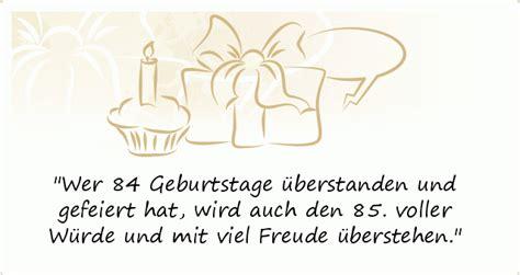 Sprüche Zum 85. Geburtstag