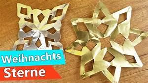Papiersterne Basteln Anleitung : weihnachts sterne basteln mit kindern super einfache ~ Watch28wear.com Haus und Dekorationen