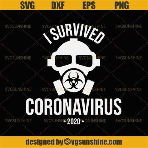 ✓ free for commercial use ✓ high quality images. Gas mask svg I Survived Coronavirus 2020 SVG I Survived ...