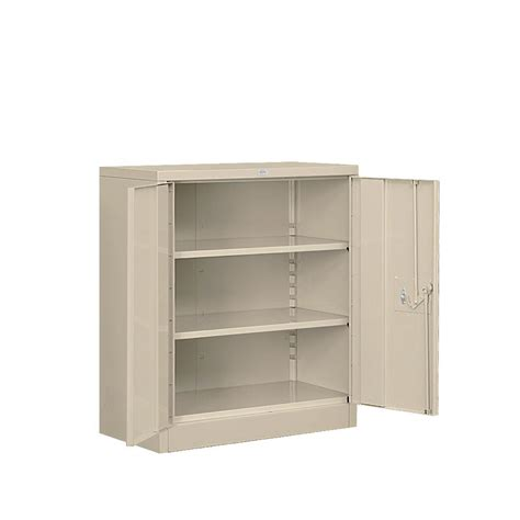 home depot metal cabinets salsbury industries 8000 series 2 shelf heavy duty metal