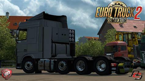 daf xf   truck euro truck simulator  mods