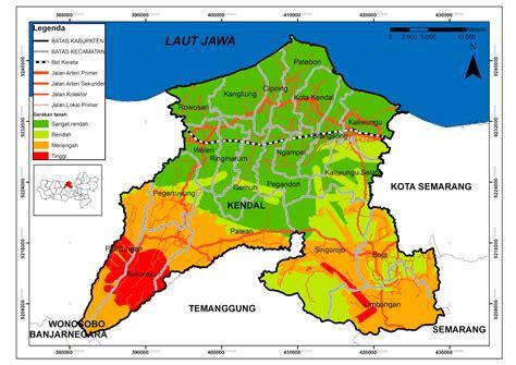peta kota peta kabupaten kendal