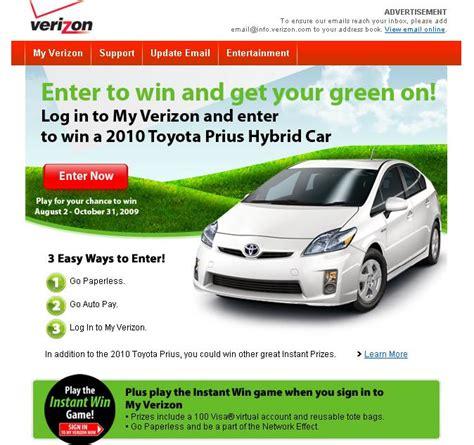 Hybrid Car Green Promotion From Verizon, Size