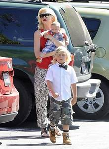 Apollo Rossdale Pictures - Gwen Stefani Spends the Day ...