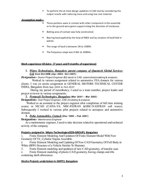 Work Resume Exles by Resume With Current Work