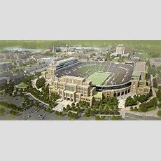 Notre Dame Stadium Receives New Videoboard  Football Stadium Digest