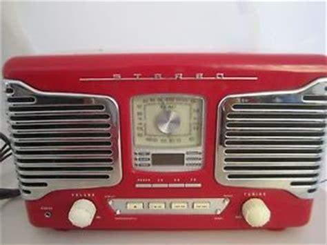 Tabletop Radio Cd Player by Teac Retro Red Sl D80 Cd Player Alarm Tabletop Radio Red