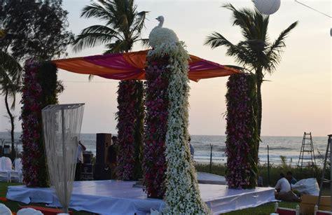 peacock themed wedding  ramada caravela beach resort