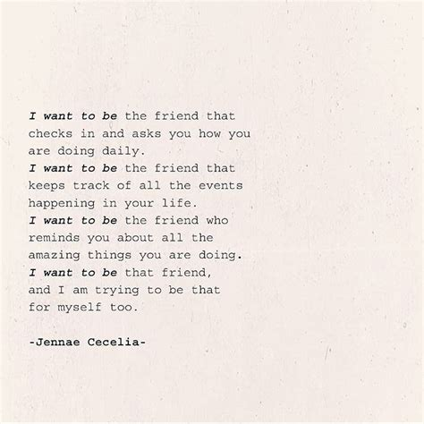 I Want To Be That Friend Real Friendship Quotes Short