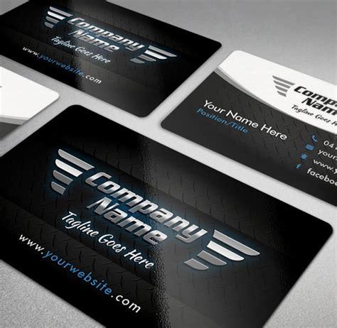 cool automotive business cards psds